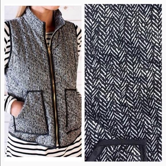 Jackets & Blazers - Printed herringbone vest