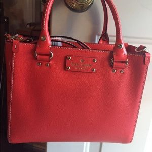 Kate Spade purse. Beautiful! Small Wellesley.