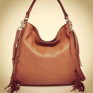 Rebecca Minkoff NWT boho leather bag w FRINGE!