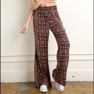 Brandy Melville fall flare pants!