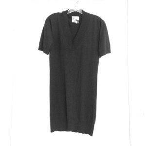Barneys New York CO-OP Tops - Silk/cashmere deep neckline tunic for skinny jeans