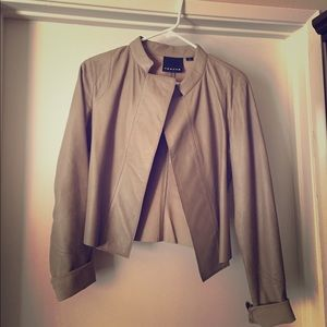 Trouve Jackets & Blazers - FLASH SALE Trouve REAL LEATHER jacket.