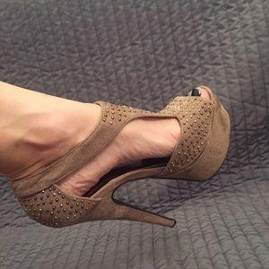 GiGi New York Shoes - Gigi New York Suede Platform Heels