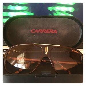 Authentic Carrera Tortoise Shell Sunglasses