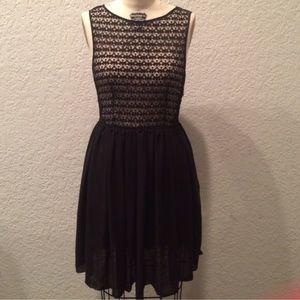 ccc83b75b5a99 American Apparel Dresses - American apparel chiffon lace dress