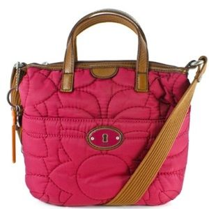 Fossil Key Per Crossbody with matching wallet