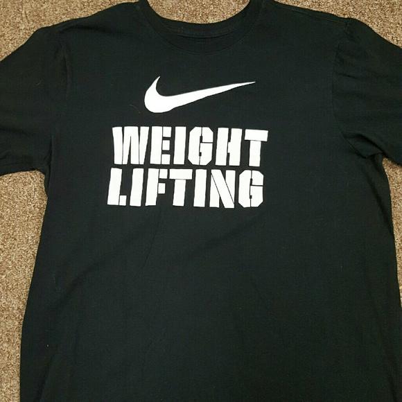Nike weightlifting T-Shirt. M 57fa79b03c6f9f96d2000681 f0e8652a79