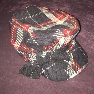 August Hats Accessories - Women's August Plaid Newsboy Hat w/ bow~ SALE