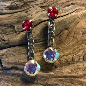 Jewelry - Handcrafted Earrings with Swarovski crystals #40