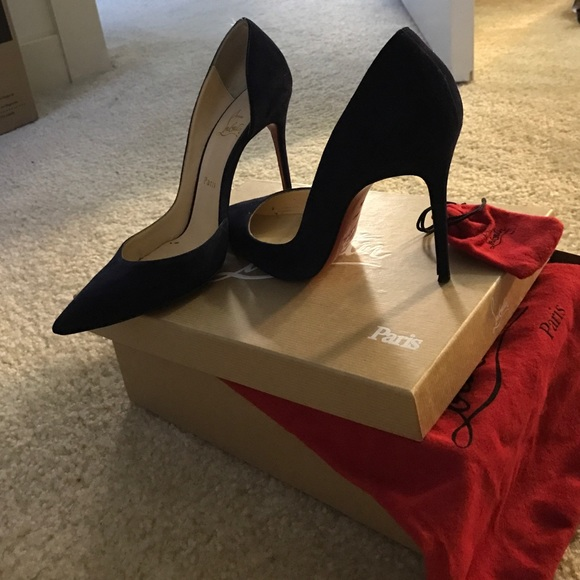 Navy Blue 100mm Iriza Pumps