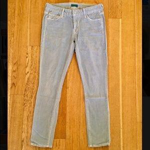MOTHER Denim - MOTHER corduroy ankle fit jeans