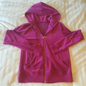 New Michael Kors Pink Track Suit Jacket XS