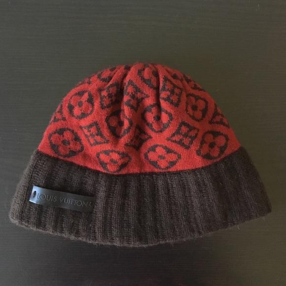 a9a4df741e3 Louis Vuitton Accessories - Louis Vuitton Monogram Cashmere Hat 🎩 ❤️
