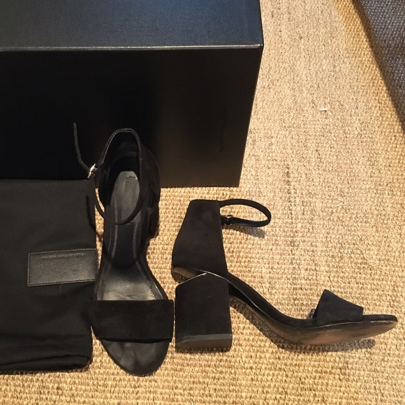 37341f7aed02 Alexander Wang Shoes - Alexander Wang Abby Sandals size 7 37 black suede