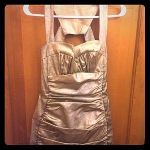 Cache gold dress