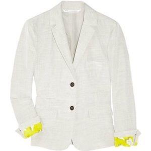 Diane von Furstenberg Jackets & Blazers - Diane Von Furstenberg school boy blazer