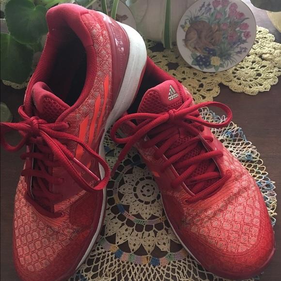 Le Adidas Rosso - Arancio Adiprene Tennis Taglia 75 Poshmark