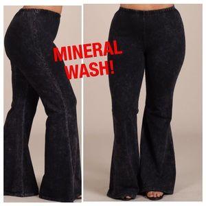 tla2 Pants - MINERAL WASH BELL BOTTOMS!🎉🎉