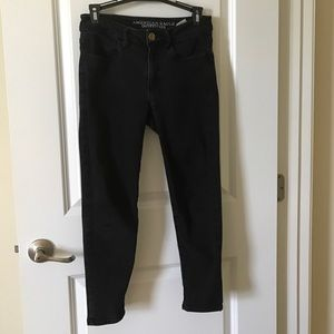 American Eagle Outfitters Denim - AMERICAN EAGLE Super Stretch Black Jeans