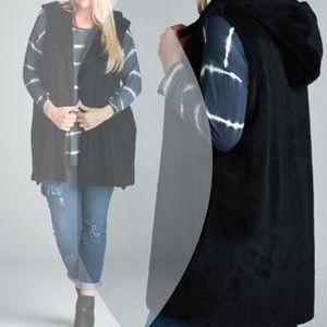 tla2 Jackets & Blazers - SUPER SOFT HOODED VEST!