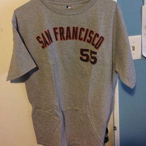 Tim lincecum San Francisco Giants shirt