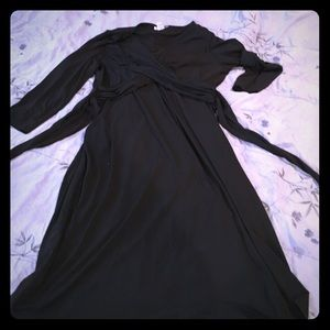 Motherhood maternity black dress size large