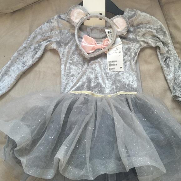 1384db7326 H&M Costumes | Girls Tutu Mouse Costume | Poshmark