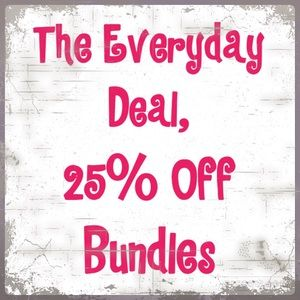 Other - Create a Bundle and Save 25% Automatically!
