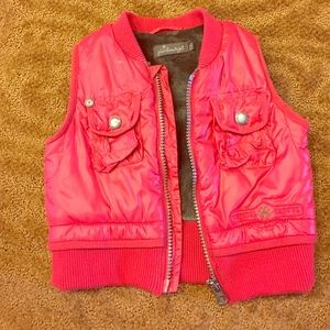 Jean Bourget Other - Adorable red puffer vest