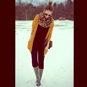 •GUESS | Leopard Print Rain Boots•