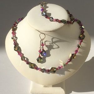 Emily Ray Jewelry - Emily Ray Swarovski Crystals & Sterling  Set