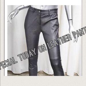 Gerard Darel Pants - Gerard Darel lamb leather skinny pant