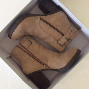 Sole Society Jessy Ankle Boots 9.5