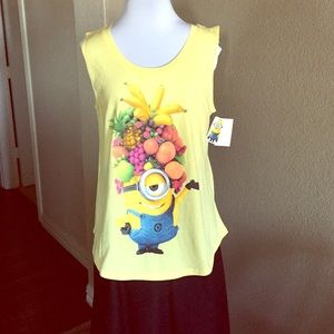 Despicable Me Made by Minions Tops - Minions Tank Top