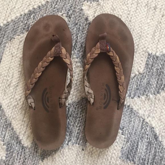 c1cf9920d08c Rainbow sandals - twisted sister flip flops. M 57fab1685c12f8d745006b46