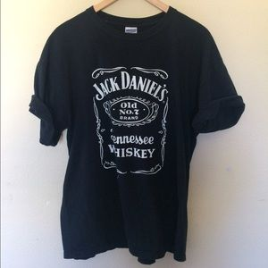 Tops - Jack daniels overized t shirt
