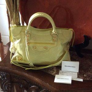Balenciaga Handbags - BALENCIAGA Made in Italy Classic City Satchel
