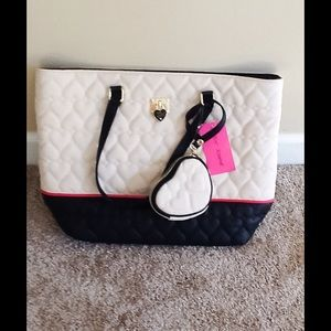 SALE! NEW! Betsey Johnson Tote