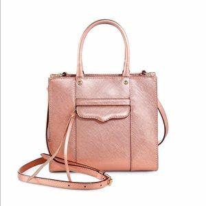 Rebecca Minkoff Handbags - Rebecca Minkoff Rose Gold Mini MAB