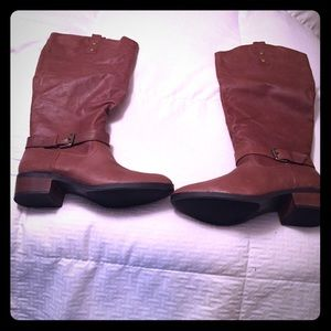 Chinese Laundry High Brown Pull-on Boots