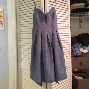 Urban Renewal Denim Colored Dress