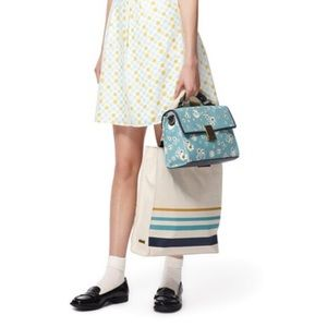 Jason Wu for Target Handbags - JASON WU FOR TARGET BLUE STRIPE TOTE