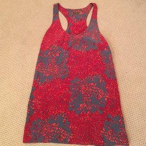 Karen Zambos Red Pattern Dress