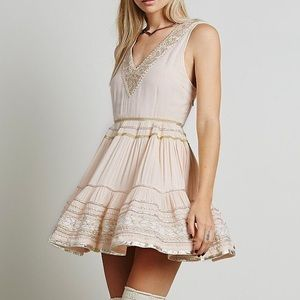 Free People Dresses & Skirts - FREE PEOPLE Mini Dress Patterned Bohemian Classic