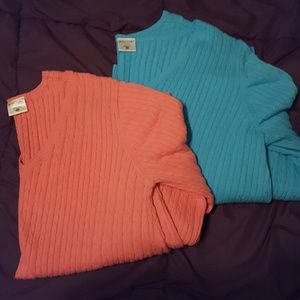 Two Motherhood Maternity sweaters size XL