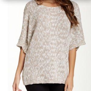 14th & Union Sweaters - NWOT 14th & Union Marled V Back Oversized Sweater