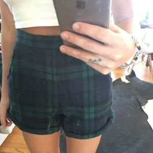 Misguided Plaid Shorts - 6