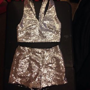 Other - Sequined Two Piece
