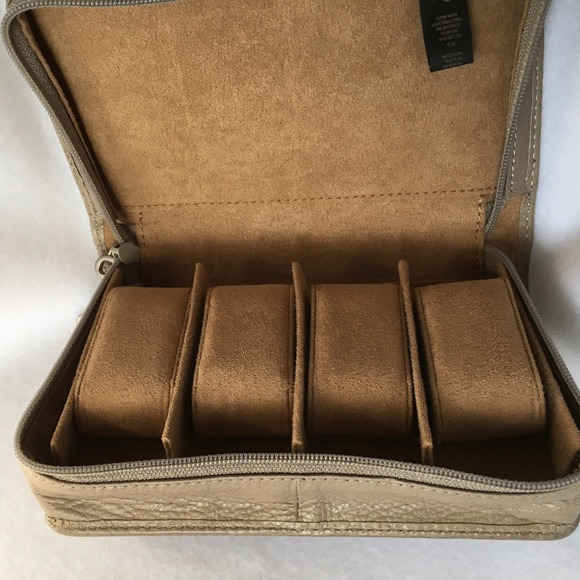 Fossil Watch Travel Case 4 Watches