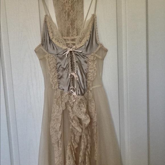 6bbbcb05417 Vintage Gypsy Romantic Sexy Nighty w/lace sleeve. M_57facbbc9c6fcfd9fd00c079